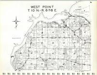 Map Image 001, Columbia County 1965